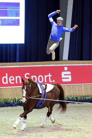 Justus Schuckert mit Flying Dutchman. Foto: Barneys Photoshop