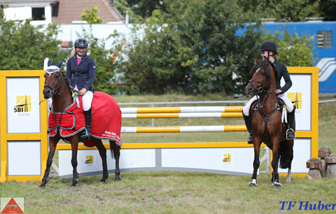 Horst-Gebers-Tour Young Talent Future Pony Challenge 2017 Qualifikation Dannenberg. Foto: TF Huber