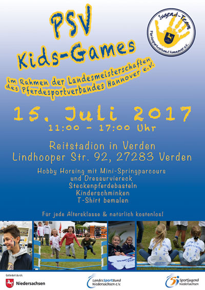 plakat psv kids games