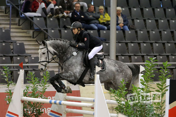 Ilkay Kalay/ Happy's Cheval (SHO). Foto: Stroscher